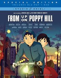 amazon com from up on poppy hill blu ray dvd combo pack