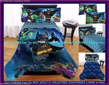 Batman Twin Bedding Set by Lego Comforter Ebay