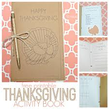 diy thanksgiving activity book u create
