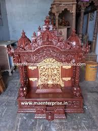 indian wooden temple design for home pooja mandir buy wooden
