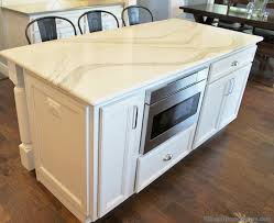 microwave in island in kitchen drawer style microwave brilliant one room challenge cottage