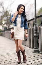 dresses with boots lace dress cowboy boots ariat boots giveaway