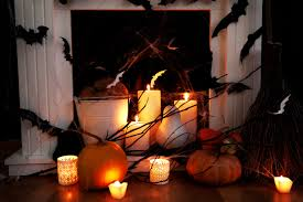 halloween decorations scary for homes web backdrop decoration