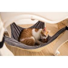 cat hammock bed soft warm and comfortable pet hammock use with