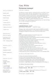 restaurant resume template this is restaurant manager resume restaurant general manager resume