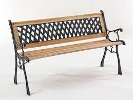 panchina in legno da esterno panchina dafne in ghisa e legno panca da giardino schienale