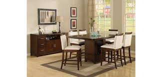 counter height dining room sets dining room modern black counter height set with regarding bar table