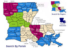 louisiana geographical map la dotd safe routes to school status map