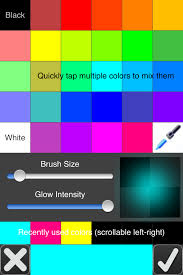 glow draw paint color with glowing neon light photo u0026 video