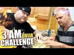 The Challenge Kidbehindacamera Kidbehindacamera The 3 Am Ouija Board Challenge Reaction