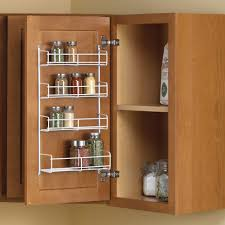 Kitchen Cabinet Spice Rack Organizer Real Solutions For Real Life 11 25 In X 4 69 In X 20 In Door