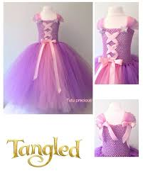 disney inspired tangled princess rapunzel tutu dress dressing