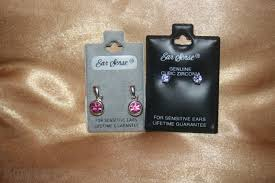 ear sense earrings 2 new pairs beautiful ear sense sensitive earrings for sale in