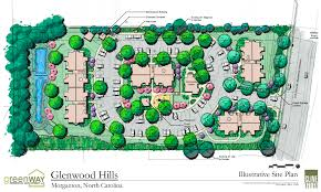 residential site plan site plan for glenwood hills
