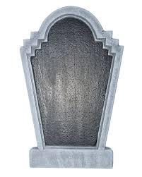 gravestone table with chalk 55cm writable halloween gravestone in