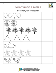 counting worksheets kindergarten worksheets