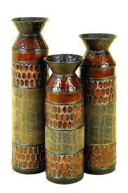 Large Brown Floor Vase Tall Floor Vases With Artificial Flowers Uk Large 28654 Gallery