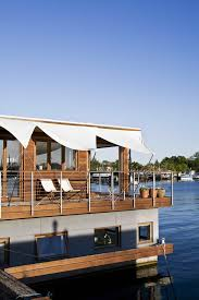 floating houses houseboats by dirkmarine all custom designed steel hull or