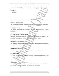 Sample Resume For Maintenance Worker by Sample Work Proposal Sample Job Proposal Letter 1 638 Jpg Cb