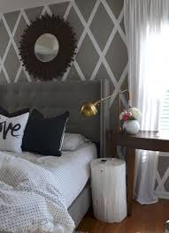 Grey Wall Bedroom Best 25 Striped Accent Walls Ideas On Pinterest Striped Walls