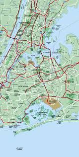 Nyc City Map New York City Map Eastern Section Of Nyc