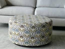 ottoman round fabric upholstered ottoman custom ottoman round