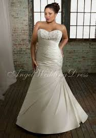 plus size fit and flare wedding dress trumpet fit and flare strapless chiffon plus size wedding dress