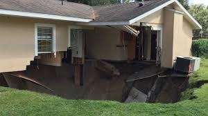 sinkhole in apopka swallows part of home