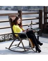 fall into savings on outdoor folding rocking chairs
