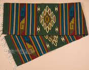 Mexican Table Runner Zapotec Mexican Table Runner 15