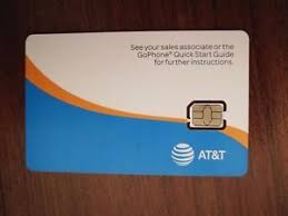 ready prepaid card new at t nano sim card 3g 4g lte go phone ready to activate at t