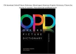oxford english dictionary free download full version pdf pdf download oxford picture dictionary monolingual american english