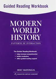 modern world history patterns of interaction guided reading