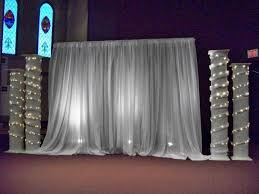 wedding backdrop tulle wedding décor manitoba creating a inc