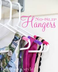 clothes closet organizing no slip hangers in my own style