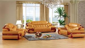 Living Room Furniture Sets Leather Antique European Leather Sofa Set Living Room Sofa Made In China