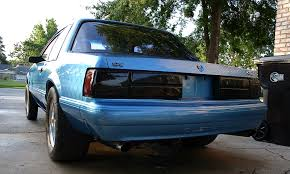 93 mustang lx tail lights smoked lx tails how to mustang forums at stangnet