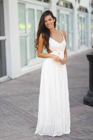 white maxi dress white lace maxi dress with open back and frayed hem maxi dresses
