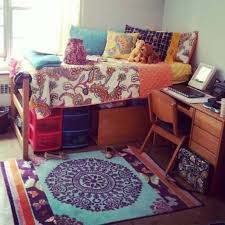 furniture marvelous college dorm room ideas with brown wooden