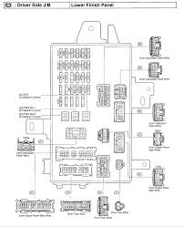 where is fuse for radio on 2003 toyota camry