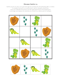 thanksgiving puzzles for adults dinosaur sudoku puzzles free printables gift of curiosity