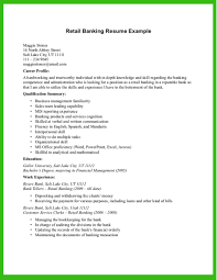 Sample Of Resume In Canada by Resume Resume Example For Bank Teller
