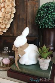Easter Home Decor by My Budget Friendly Easter Vignette The Hamby Home