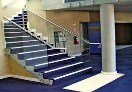 rubber stair nosing for a tiled floor stair treads corner