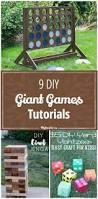 9 diy giant games tutorials kids activities fun games