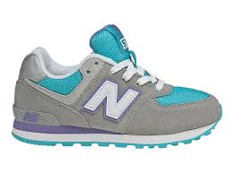 Purple Gray Turquoise And Purple by New Balance 574 Kl574bap Grey With Turquoise