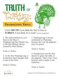 11 pieces of thanksgiving trivia you should trivia and