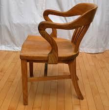 Furniture Kitchener Tribute 20th Decor 1940 U0027s Oak Desk Chair
