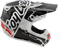 troy lee motocross gear 2018 troy lee designs se4 polyacrylite factory helmet motocross