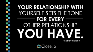 Iyanla Vanzant Quotes On Love by Sales Motivation Quote Your Relationship With Yourself Sets The